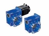 NMRV090-80-F1法兰输出伺服蜗轮蜗杆减速机加工定制