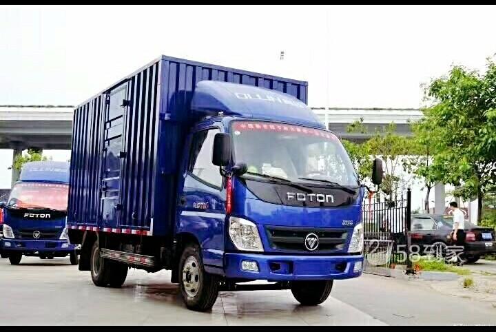 专业厢式货车出租中