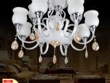 欧式大厅吸顶灯批发中山 欧式双层灯具大堂12头欧式大厅吸顶灯