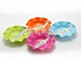 黄岩供应欧式水果盘 沙拉盘 创意糖果盘 塑料盘 零食瓜果盘