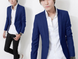 2014春季新款流行修身小西装男士韩版小西服男外套休闲西服潮