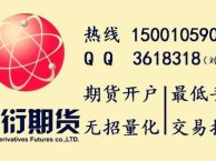 武汉期货开户无招量化系统指导交易,股指0.24%%商品加1毛