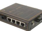 汉源高科百兆一光四电工业级光纤收发器光纤