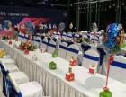 上海1.2长条折叠桌 1.8IBM宴会桌 十人位大圆餐桌出租