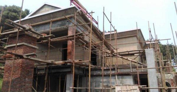 重庆自建房 施工小洋房 别墅 乡镇房屋 室内 景观设计及