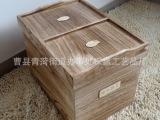 米桶 25kg 实木 四格装米桶 密封豆