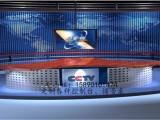 厂家直销电台主持新闻播音桌 访谈桌,媒体室演播桌