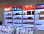 木质烤漆手机展示柜台业务受理收银台精品配件柜