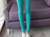 特价促销2014夏季女裤薄款糖果色牛奶丝七分裤打底裤批发一件代发