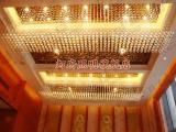 专业提供加工 欧式环保型LED水晶吸顶灯 豪华酒店大堂客厅水晶灯