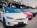上海租特斯拉 特斯拉Model X自驾婚车租赁