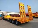 平板后翻自卸8.5米-9.5米 高强挂车 厂家直销1年1万公里面议