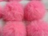 各种毛球 南宫常润 供应服饰獭兔毛球5公