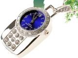 货源厂家 电脑usb水晶手表  原装芯片创意礼品U盘 加工定制芯