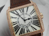 瑞士品牌F 超美的皮带方形女表 秀气手表