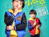 童装冬款 韩版男童加厚儿童棉衣棉服 小爸爸夏天同款童棉衣