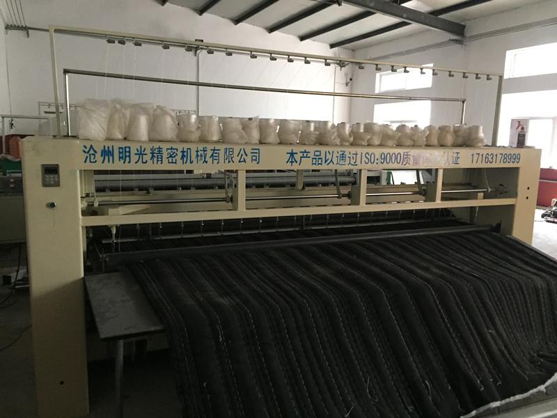天津大棚棉被机 沧州哪里有卖好用的三米双排棉被机