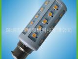 6.5W玉米灯 白光 暖白B22 LED玉米灯 采用进口晶元芯片