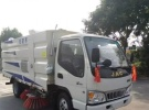 钦州江淮帅铃5.5方扫路车吸尘车清扫车价格1年0.1万公里12.8万
