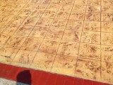 盐城 淮安 泰州厂房环氧地坪漆施工 压花压模地坪 透水混凝土