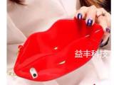 性感红唇手机壳 苹果iphone5s嘴唇 iPhone4S硅胶套