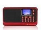 卡尔诗M2便携式插卡音箱小音响收音机老人MP3播放器数字点歌