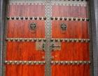 特价原生态实木门复古中式庭院门