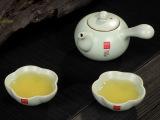 厂家直销供应 汝窑茶具 正品一壶二两杯快客杯带茶盘茶具套装