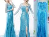 2014冰雪奇缘成人连衣裙爱莎公主连衣裙Frozen dress