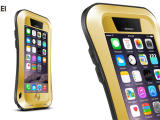 love mei 小蛮腰苹果6手机壳 iphone6 4.7寸金