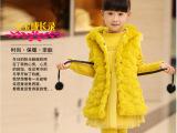 童装一件代发外贸原单新年皮草童套装儿童卫衣三件套批发冬装