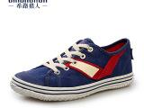 男士帆布鞋男 韩版懒人鞋夏款休闲鞋 单鞋牛仔鞋透气布鞋男鞋潮鞋