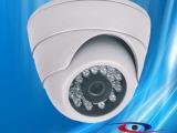 热销 海视嘉室内监控红外夜视半球摄像机 24颗红外灯监控探头