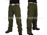 现货销售 军绿色舒适直筒裤 优质军装裤 户外登山野营旅行必备