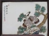 刘雨岑瓷板画私下交易正规公司