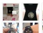 出售新款全新曰本精工黑钢限量版男裝石英手表