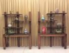 老船木博古架多宝格 实木古董架瓷器架 置物架储物架