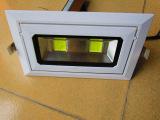 厚壳LED长方形筒灯天花灯射灯40w 厂