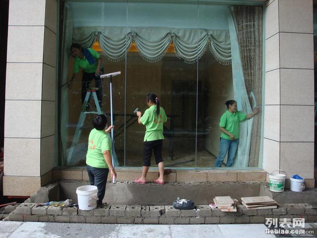 睢宁较专业的保洁公司,家庭门面保洁,小时工,擦玻璃等!