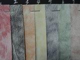 品质款小石头纹pu印花革 双色箱包手袋包