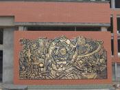 山西浮墙雕塑施工|手法细腻的浮墙雕塑出售