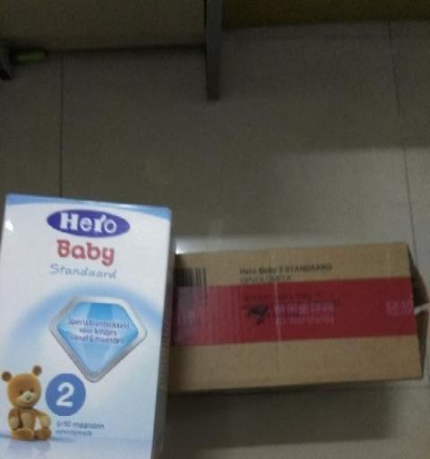 闲置五盒正品hero baby荷兰版奶粉
