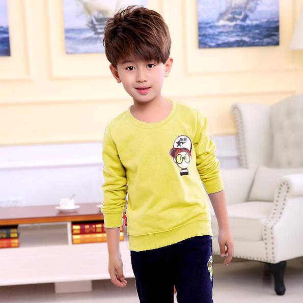 荆州童装批发最低价秋季儿童卫衣打底衫批发厂家直销小孩服装批发