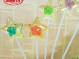 【金稻谷】10克长棒五角星糖果、透明糖果、休闲零食 创意糖果