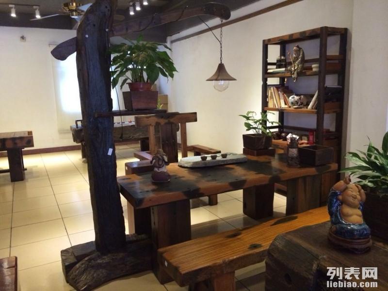 老船木家具 实木家具 个性家居 休闲家具 船木圆餐桌