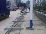 深圳市政道路护栏竖杆之间的间隙是多宽