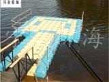 定制组合浮箱,浮台,塑料码头浮箱,欢迎致电