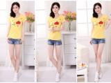 夏季新款纯棉t恤女装韩版宽松百搭学生半袖批发