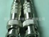 Q9头普通免焊75-5视频线接头 美式焊接头/视频头连接器,BN