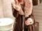 FW2127外贸女装批发 供应秋冬新款加厚 保暖女式皮衣 长版外套